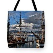 Lady Washington - Hawiian Chieftain Tote Bag