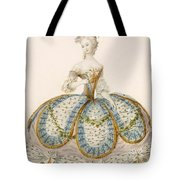 Lady Wearing Dress For A Royal Tote Bag