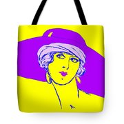Lady With Hat 1c Tote Bag