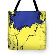 Lady With Hat 2c Tote Bag
