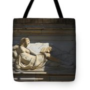Lady With The Book Tote Bag