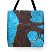 Lady With The Golden Hair Tote Bag