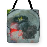 Lady With The White Hat Tote Bag