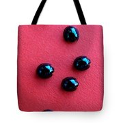 Ladybirds In Formation Tote Bag