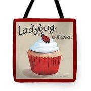 Ladybug Cupcake Tote Bag