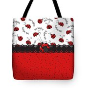 Ladybugs Occasion Tote Bag