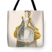 Ladys Ball Gown, Engraved By Dupin Tote Bag