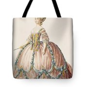 Ladys Gown For The Royal Court Tote Bag