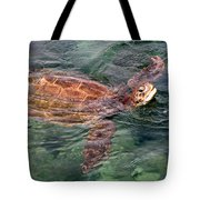 Lager Head Turtle 001 Tote Bag