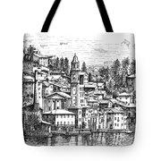 Lago Di Como-brienno Tote Bag