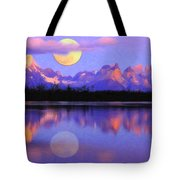 Lago Pehoe In Torres Del Paine Chile Crayons Tote Bag