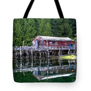Lagoon Cove Tote Bag by Robert Bales