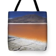 Laguna Colorada, Altiplano Bolivia Tote Bag