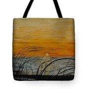 Laguna Madre Sunset Tote Bag