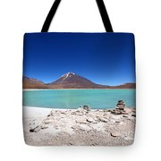 Laguna Verde Bolivia Tote Bag
