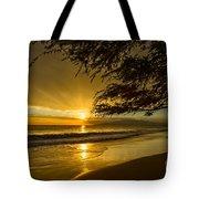 Lahaina Sun Burst Tote Bag