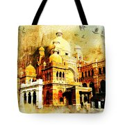 Lahore Museum Tote Bag by Catf