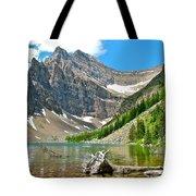 Lake Agnes In Banff Np-alberta Tote Bag