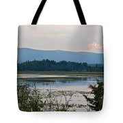 Lake Along Klondike Highway-yt Tote Bag