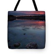 Lake Alvin Dusk Tote Bag