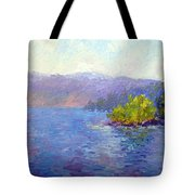 Lake Arrowhead Tote Bag