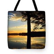 Lake At Sunrise Tote Bag