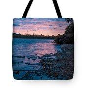 Lake Bailey Sunset Tote Bag