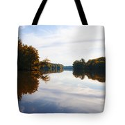 Lake Carnegie Princeton Tote Bag