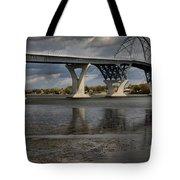 Lake Champlain Bridge Tote Bag