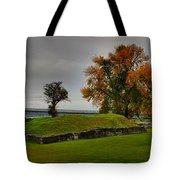 Lake Champlain Crown Point Panorama Tote Bag