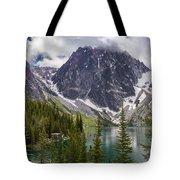 Lake Colchuck Gateway To The Enchantments Tote Bag