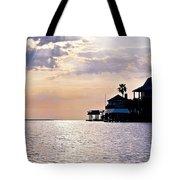 Lake Como On The Gulf Coast Sunset Tote Bag