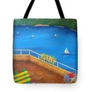 Lake Como Tote Bag by Pamela Allegretto