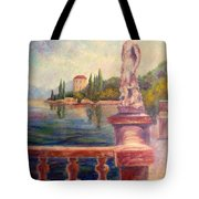 Lake Como View Tote Bag