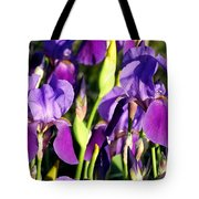 Lake Country Irises Tote Bag