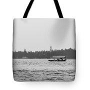 Lake Crossing Tote Bag