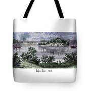 Lake Erie - 1815 Tote Bag
