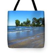 Lake Erie At Sheldon Marsh 2 Tote Bag