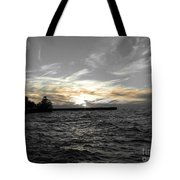 Lake Erie Lights Tote Bag