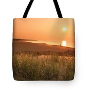 Lake Erie Sunset Tote Bag