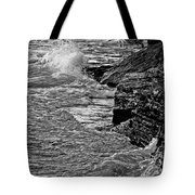 Lake Erie Waves Tote Bag