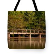 Lake Forest Bridge Tote Bag