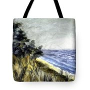 Lake From The Dunes Tote Bag