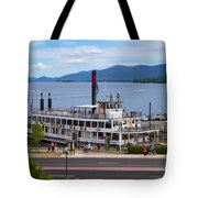 Lake George Cruise Tote Bag
