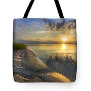 Lake Glow Tote Bag