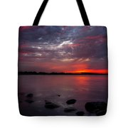 Lake Herman Sunset Tote Bag