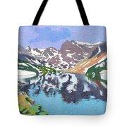 Lake Isabelle Colorado Tote Bag