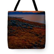 Lake Jocassee Sunrise Tote Bag