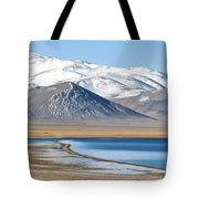 Lake Kara Kul Tote Bag