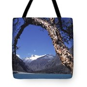Lake Llanganuco Peru Tote Bag